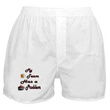 My Drinking Team Has a Curlin Boxer Shorts