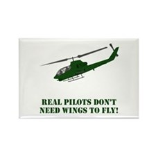 Cute Helicopter Rectangle Magnet