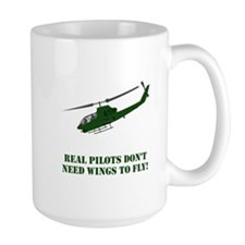 Helicopter Wings Green Mugs