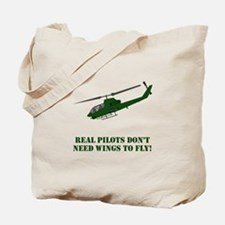 Cute Helicopter pilot Tote Bag