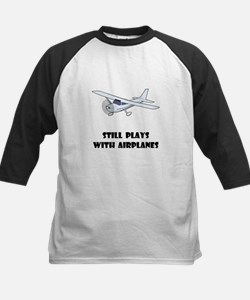 Still Plays With Airplanes Kids Baseball Jersey