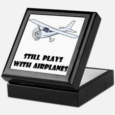 Still Plays With Airplanes Keepsake Box