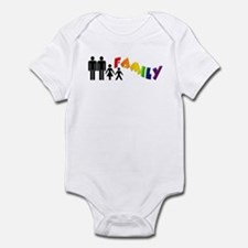Gay Pride Family Infant Creeper