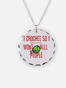 Cute Crochet Necklace