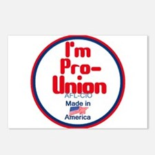 Pro Union Postcards (Package of 8)