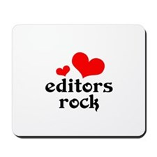 Editors Rock Mousepad