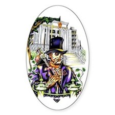 VooDoo New Orleans Oval Decal