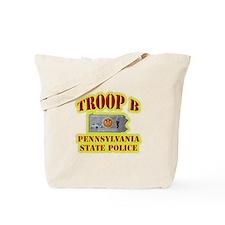 PA State Police Troop B Tote Bag