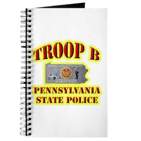 PA State Police Troop B Journal