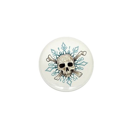 NPBT Skullflake Mini Button (10 pack)