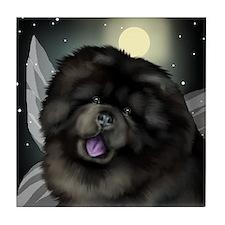 CHOW CHOW DOG FAIRY Tile Coaster