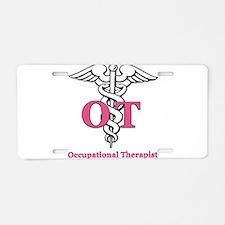 Occupational Therapist Aluminum License Plate