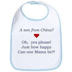A Son From China Bib