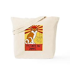 Le Shiba Tote Bag