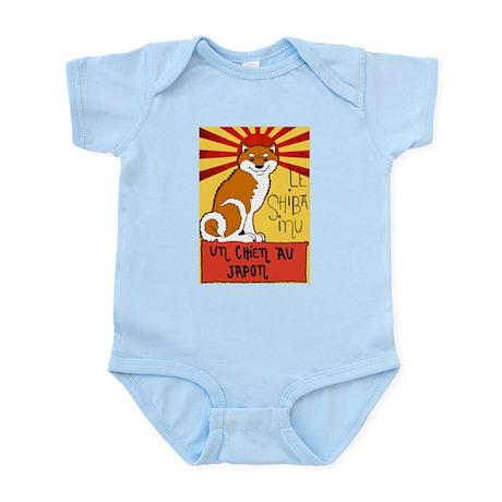 Le Shiba Infant Bodysuit