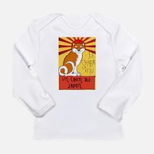 Le Shiba Long Sleeve Infant T-Shirt