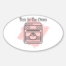 Bun in the Oven Decal