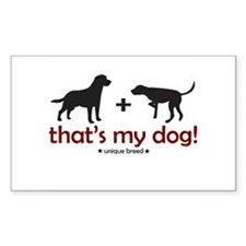 Lab/Pointer Rectangle Decal