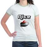 Nice Rock Jr. Ringer T-Shirt