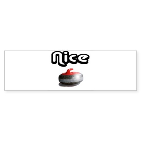 Nice Rock Bumper Sticker