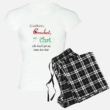 Coffee, Crochet & Chat Pajamas