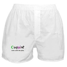 Co-Exist Section Boxer Shorts