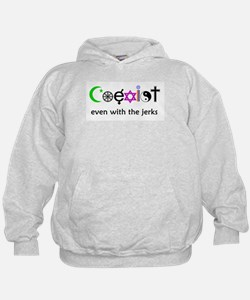 Co-Exist Section Hoodie