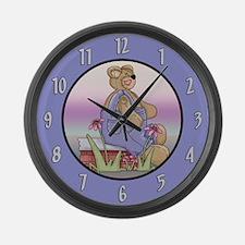 Teddy Bear Large Wall Clock