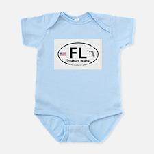 Florida City Infant Bodysuit