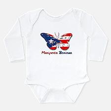 Cute Mariposas Long Sleeve Infant Bodysuit