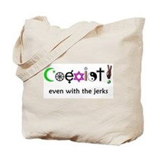 Co-Exist Section Tote Bag