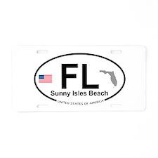 Florida City Aluminum License Plate