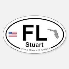 Florida City Decal