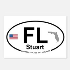 Florida City Postcards (Package of 8)