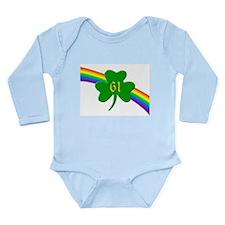 61st Shamrock Long Sleeve Infant Bodysuit