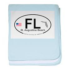 Florida City baby blanket