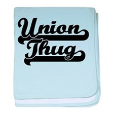 Union Thug baby blanket