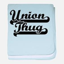 Union Thug baby blanket