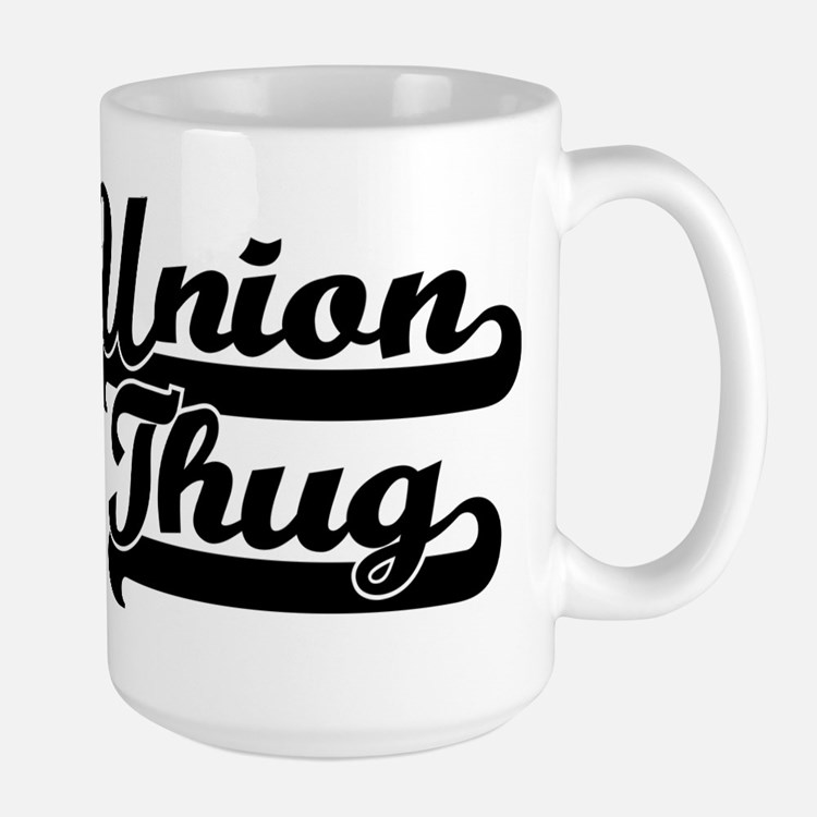 Union Thug Large Mug