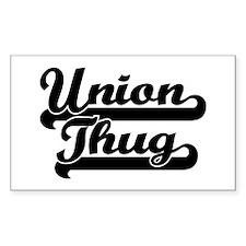Union Thug Decal