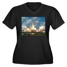 STS-26 Return to Flight Women's Plus Size V-Neck D