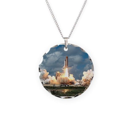 STS-26 Return to Flight Necklace Circle Charm