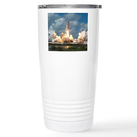 STS-26 Return to Flight Stainless Steel Travel Mug