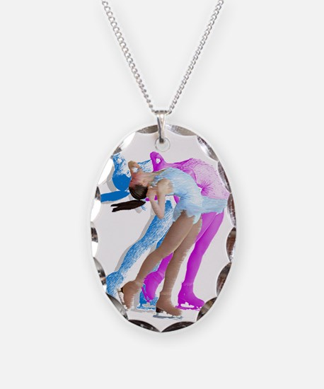 Skater in the Wind Necklace