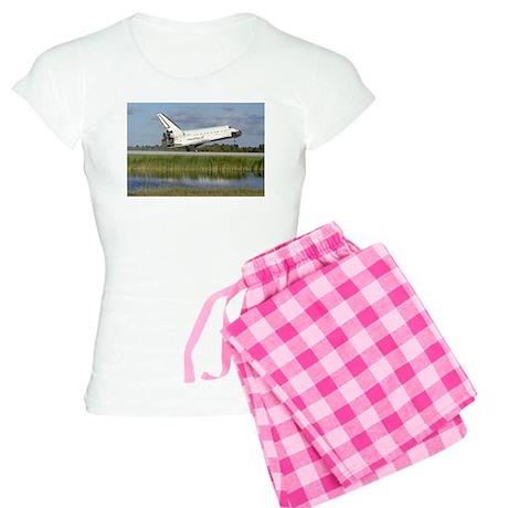 STS-86 Landing Women's Light Pajamas