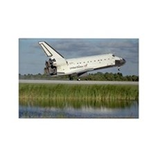 STS-86 Landing Rectangle Magnet