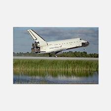 STS-86 Landing Rectangle Magnet