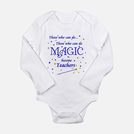 Those Who Can Do Magic Long Sleeve Infant Bodysuit