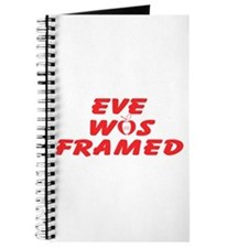 Eve Was Framed Journal