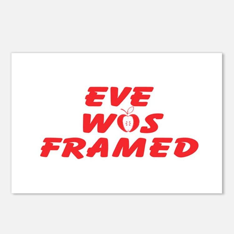 Eve Was Framed Postcards (Package of 8)